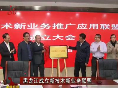 黑龙江成立新技术新业务联盟